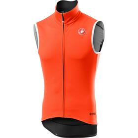 Castelli Perfetto Rain Or Shine bodywarmer Heren, orange
